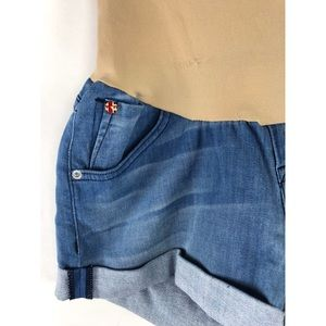 Hudson Jeans Shorts - Hudson Maternity Jeans A Pea In The Pod Blue